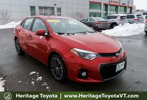 2015 Toyota Corolla S South Burlington VT