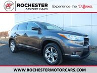 2015 Toyota Highlander Limited AWD - Certified - Htd Leather - Sunroof - Nav - To Rochester MN