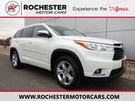 2015 Toyota Highlander Limited AWD - Driver Technology Pkg - Heated/ Cooled Leath Rochester MN