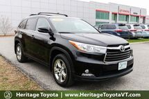 2015 Toyota Highlander Limited South Burlington VT