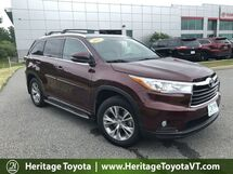 2015 Toyota Highlander XLE South Burlington VT
