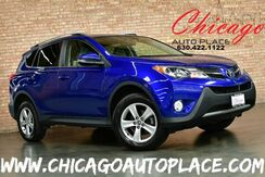 2015_Toyota_RAV4_XLE - 2.5L 4-CYL ENGINE 1 OWNER 2-TONE GRAY CLOTH INTERIOR BACKUP CAMERA SUNROOF DUAL ZONE CLIMATE BLUETOOTH PREMIUM ALLOY WHEELS_ Bensenville IL