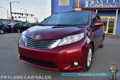 2015_Toyota_Sienna_XLE / Power & Heated Leather Seats / Sunroof / Back Up Camera / Blind Spot Alert / Power Sliding Doors / Bluetooth / Keyless Entry & Start / 3rd Row / Seats 8_ Anchorage AK