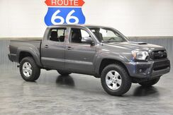2015_Toyota_Tacoma_CREWCAB 4WD!! V6! LEATHER! NAVIGATION!! HARD LOADED! ONLY 47,276 MILES!!_ Norman OK