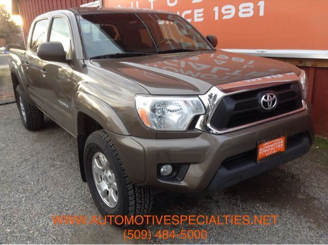 2015 Toyota Tacoma Double Cab V6 5AT 4WD Spokane WA
