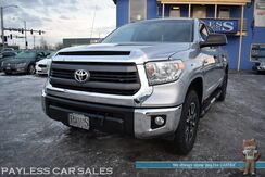 2015_Toyota_Tundra_SR5 CrewMax / TRD Off Road Pkg / 4X4 / 2-Way Auto Start / Power Driver's Seat / Bluetooth / Back Up Camera / Bed Liner / Running Boards / Block Heater / Tow Pkg / Aluminum Wheels / Low Miles / 1-Owner_ Anchorage AK