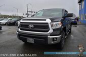 2015 Toyota Tundra SR5 / TRD Off Road Pkg / 4X4 / CrewMax / 5.7L V8 / Power Driver's Seat / Bluetooth / Back Up Camera / Cruise Control / Dual Exhaust / Bed Liner / Tow Pkg