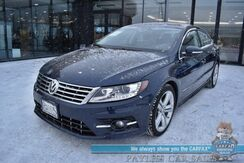 2015_Volkswagen_CC_R-Line / Automatic / Heated Leather Seats / Navigation / Bluetooth / Back Up Camera / Cruise Control / 31 MPG / Only 36k Miles_ Anchorage AK