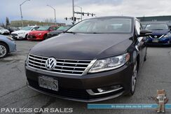 2015_Volkswagen_CC_Sport / 2.0L Turbocharged / Power & Heated Leather Seats / Navigation / Bluetooth / Back Up Camera / HID Headlights / 31 MPG / Only 37K Miles_ Anchorage AK