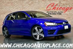 2015_Volkswagen_Golf R_2.0L TSI TURBOCHARGED ENGINE 1 OWNER 4MOTION ALL WHEEL DRIVE NAVIGATION BACKUP CAMERA KEYLESS GO PARKING SENSORS XENONS BLACK LEATHER HEATED SEATS_ Bensenville IL