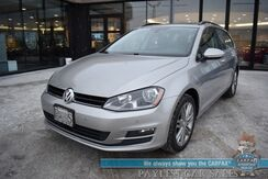 2015_Volkswagen_Golf SportWagen_TDI SE / Turbo Diesel / Automatic / Heated Leather Seats / Panoramic Sunroof / Bluetooth / Back Up Camera / Cruise Control / 42 MPG_ Anchorage AK