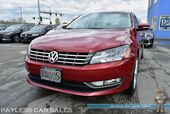 2015 Volkswagen Passat 2.0L TDI SE / Turbo Diesel / Automatic / Heated Leather Seats / Navigation / Sunroof / Bluetooth / Back Up Camera / Push Button Start / 40 MPG / Only 16K Miles / 1-Owner