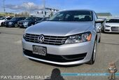 2015 Volkswagen Passat 2.0L TDI SE / Turbo Diesel / Power & Heated Leather Seats / Sunroof / Bluetooth / Back Up Camera / Cruise Control / Only 28k Miles / 40 MPG / 1-Owner