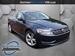 2015 Volkswagen Passat 2.0L TDI SE with Sunroof
