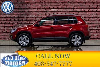 2015_Volkswagen_Tiguan_4Motion Comfortline Leather Roof BCam_ Red Deer AB