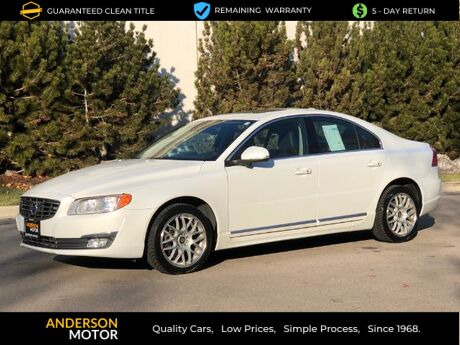 2015 Volvo S80 3.0 Premier 4WD Salt Lake City UT