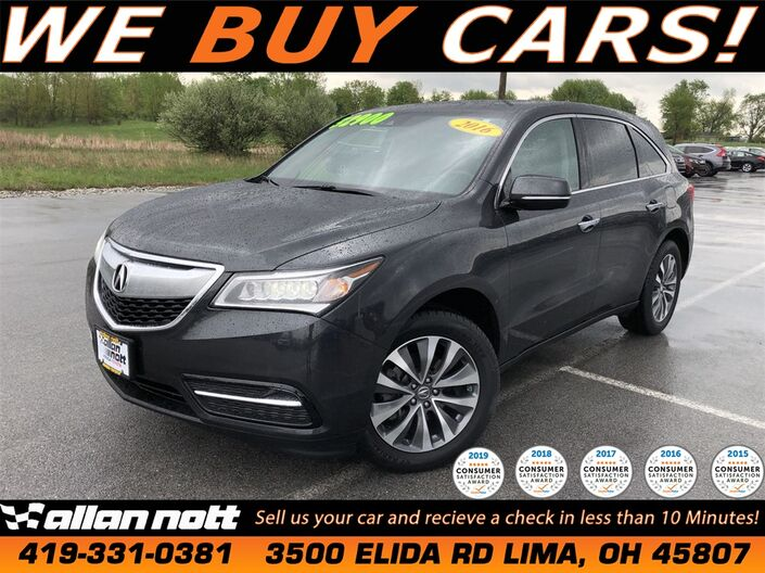 2016 Acura MDX 3.5L Lima OH