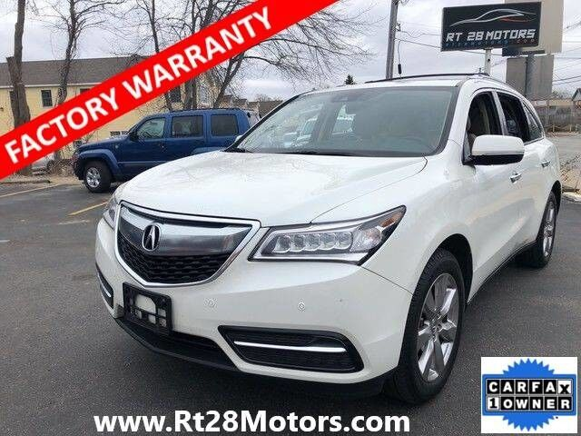 2016 Acura MDX AWD w/Advance North Reading MA