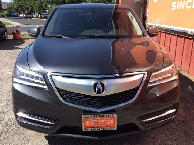 2016 Acura MDX SH-AWD 9-Spd AT Spokane WA