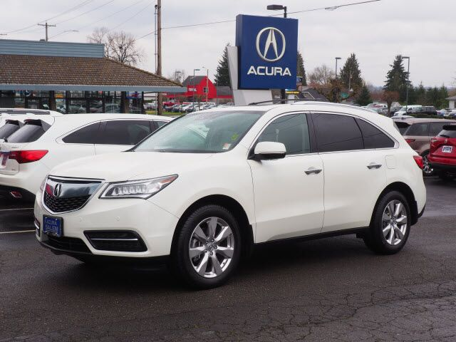 2016 Acura Mdx Sh Awd With Advance Package Salem Or 29269566