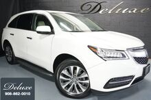 2016_Acura_MDX_Technology SH-AWD, Navigation System, Rear-View Camera, Bluetooth Streaming Audio, Heated Leather Seats, 3RD Row Seats, Power Sunroof, Running Boards, 19-Inch Alloy Wheels,_ Linden NJ