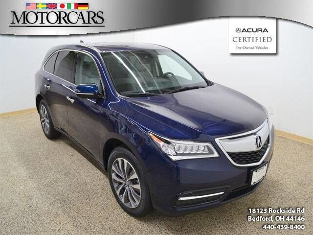 Acura MDX WTech Navigation Bedford OH - Acura mdx navigation