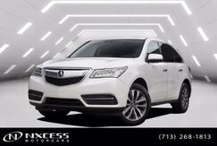 2016_Acura_MDX_w/Tech SH-AWD Navigation Leather roof Third Row Seat._ Houston TX