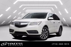 Acura MDX w/Tech SH-AWD Navigation Leather roof Third Row Seat. 2016