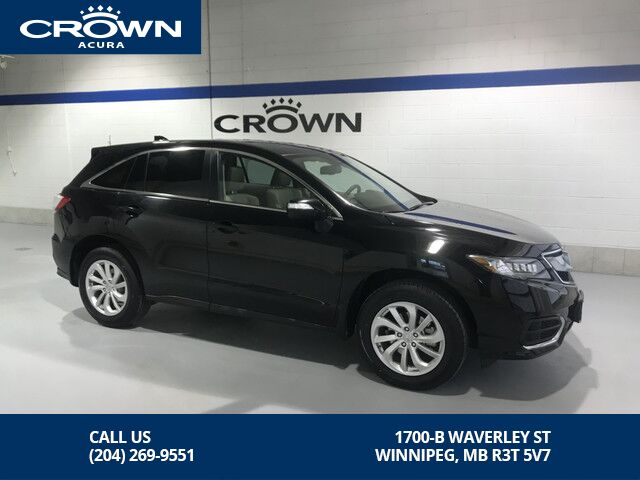 2016 Acura Rdx Awd Tech Pkg No Accidents Local One
