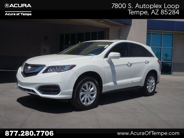 2016 Acura Rdx Base W Acurawatch Plus Package Tempe Az