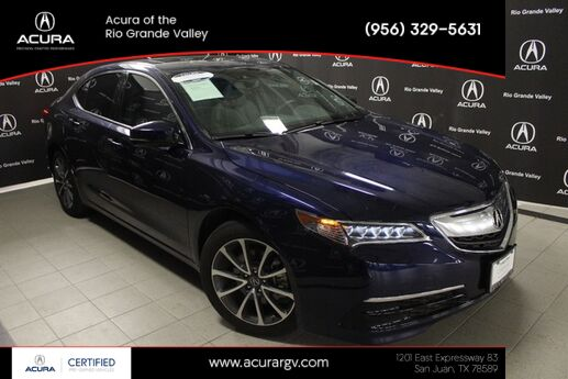 2016 Acura TLX 3.5 V-6 9-AT P-AWS with Technology Package San Juan TX
