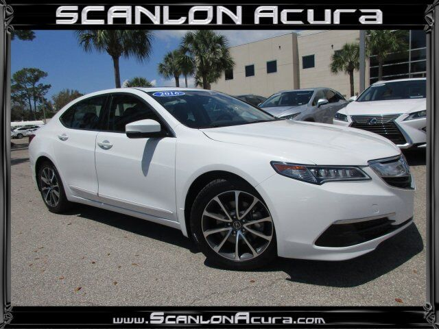 Vehicle Details 2016 Acura Tlx At Scanlon Acura Fort Myers