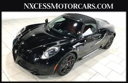 Alfa Romeo 4C SPIDER CARBON FIBER TRIM EXTRA CLEAN 1-OWNER 2016