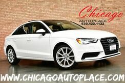 2016_Audi_A3_1.8T Premium - 1.8L TFSI 4-CYL 170HP ENGINE FRONT WHEEL DRIVE BLACK LEATHER HEATED SEATS KEYLESS GO SUNROOF DUAL ZONE CLIMATE BLUETOOTH XENONS_ Bensenville IL