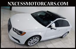 Audi A3 1.8T Premium PANO-ROOF NAVIGATION HEATED SEATS. 2016