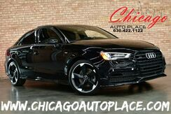 2016_Audi_A3_Quattro 2.0T Premium-S Line - 2.0L TFSI 4-CYL 220HP ENGINE ALL WHEEL DRIVE ORIGINAL MSRP: $38,295 STYLE PACKAGE BACKUP CAMERA BLACK LEATHER HEATED SEATS SUNROOF XENONS_ Bensenville IL