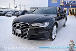 2016_Audi_A6_2.0T Premium / Quattro AWD / Power & Heated Leather Seats / Navigation / Sunroof / Bluetooth / Back Up Camera / Keyless Entry & Start / Xenon Headlights / Aluminum Wheels / 1-Owner_ Anchorage AK