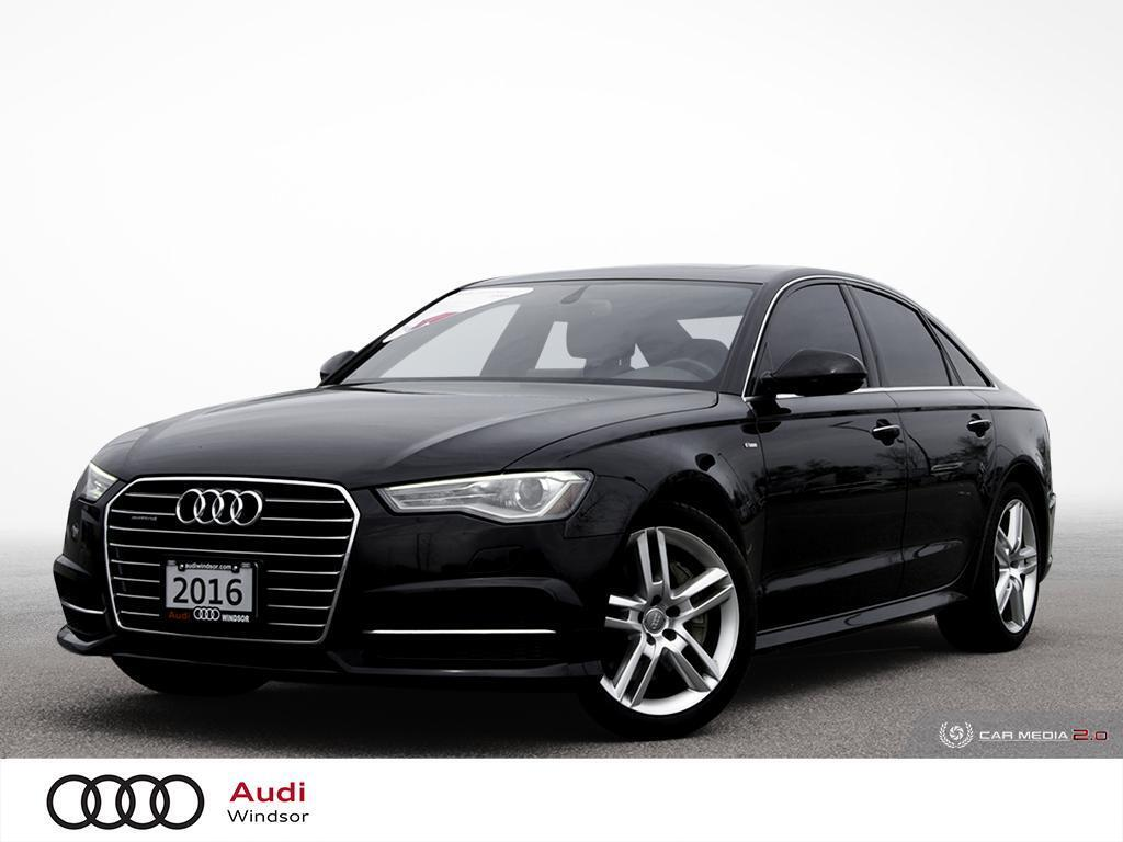 2016 Audi A6 2.0T Progressiv w/BLUETOOTH+NAV+AWD Windsor ON
