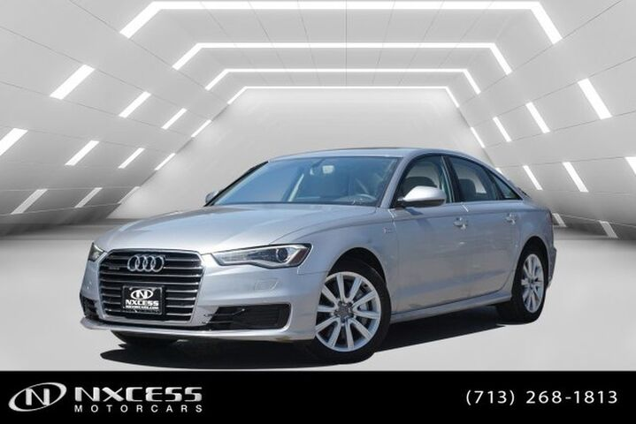 2016 Audi A6 3.0T Premium Plus Navigation Roof Leather Low Miles! Houston TX