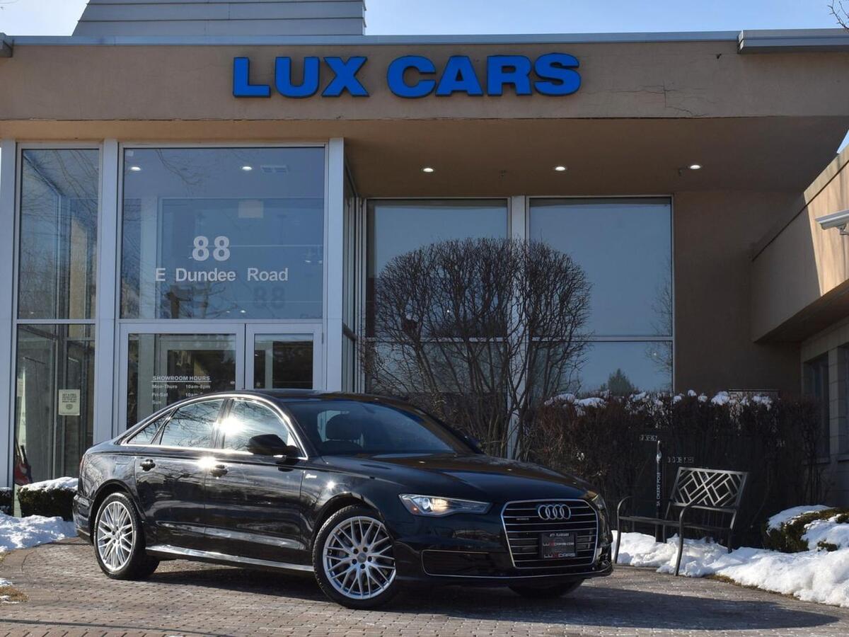 2016_Audi_A6_3.0T Premium Plus Panoroof Nav Quattro MSRP $61,025_ Buffalo Grove IL