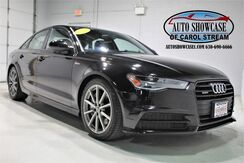2016_Audi_A6_3.0T Premium Plus S Line Sport Black Optic_ Carol Stream IL
