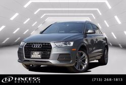 Audi Q3 Premium Plus Roof Navigation Backup Camera. 2016