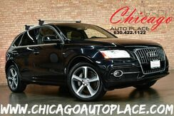 2016_Audi_Q5_Premium Plus - 3.0L V6 CYLINDER ENGINE 1 OWNER ALL WHEEL DRIVE ORIGINAL MSRP: $53,150 NAVIGATION BACKUP CAMERA PANO ROOF KEYLESS GO BLACK LEATHER HEATED SEATS XENONS_ Bensenville IL