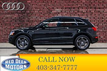 2016_Audi_Q5_Quattro Technik S-Line Leather Roof Nav_ Red Deer AB