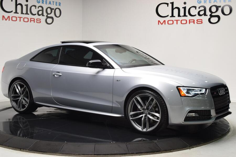 2016_Audi_S5_Premium Plus BLK Optic Plus~Sport Diff~Alcantara~Carbon Fiber_ Glendale Heights IL
