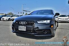 2016_Audi_S7 / AWD / 4.0L V8 / Font & Rear Heated Leather Seats / Heated Steering Wheel / Driver Assist Pkg / Heads Up Display / Navigation / Bose Speakers / Sunroof / Bluetooth / Multi-View Cameras / 27 MPG / 1-Owner__ Anchorage AK