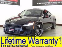 Audi TT 2.0T QUATTRO TECHNOLOGY PKG BLIND SPOT ASSIST MMI NAVIGATION PLUS PKG 2016