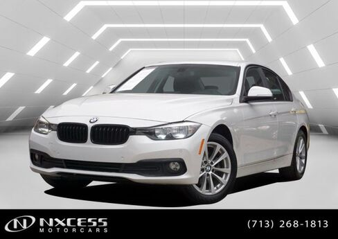 2016 BMW 3 Series 320i Leather Roof Backup Camera 1 Owner Low Miles Clean Carfax Houston TX