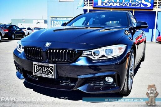 2016 BMW 435i xDrive AWD / M Sport Pkg / Front & Rear Heated Leather Seats / Heated Steering Wheel / Navigation / Sunroof / Harman Kardon Speakers / Heads-Up Display / Bluetooth / Back-Up Camera / Low Miles / 1-Owner Anchorage AK