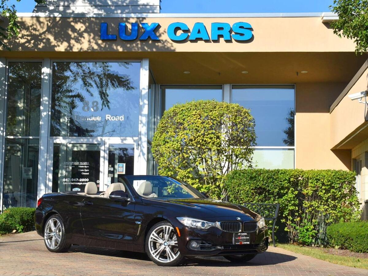 2016_BMW_435i_xDrive Convertible Luxury Technology Nav AWD MSRP $68,155_ Buffalo Grove IL